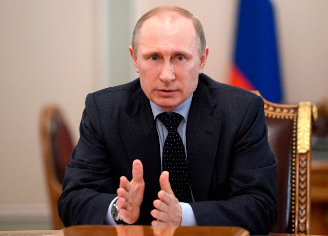 Putin Says US Presidents are Puppets, 'Men in Dark Suits' Rule DC