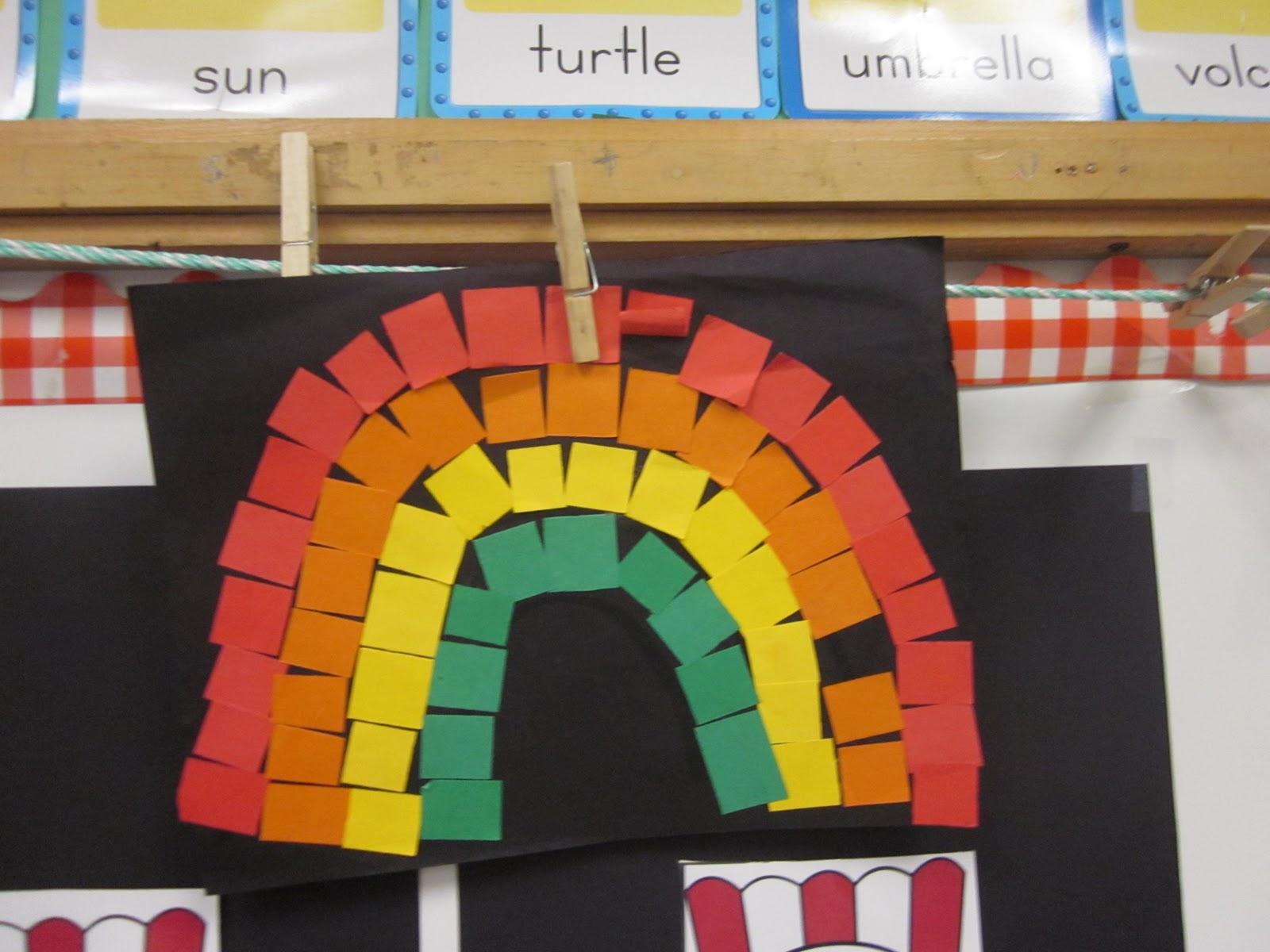 Mrs Miner S Kindergarten Monkey Business Rainbow Science Freebie
