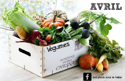 les légumes du mois d'avril