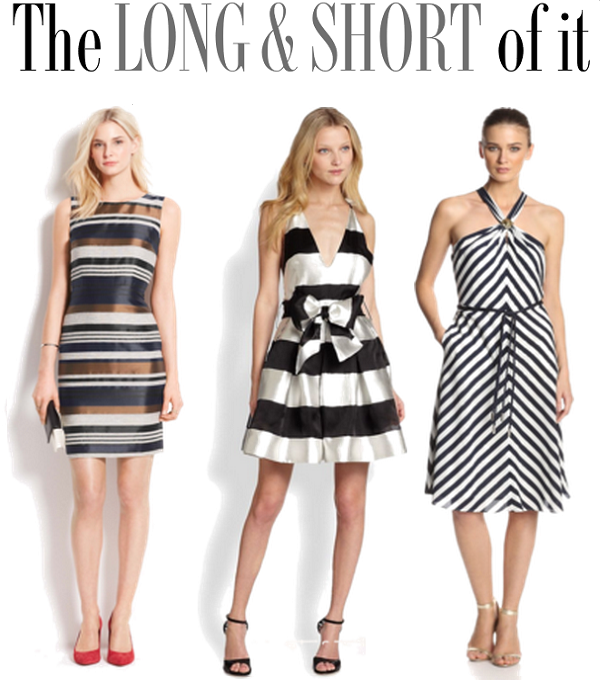 Striped Dresses, Spring Outfit Ideas, Ann Taylor Striped Sheath