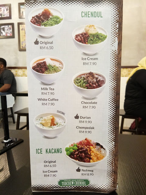 Penang Road Famous Teochew Chendul Review Restaurant