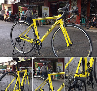 Sepeda Balap Camp 105 11speed Yellow