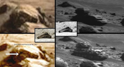 Mars is a strange place with many anomalies.