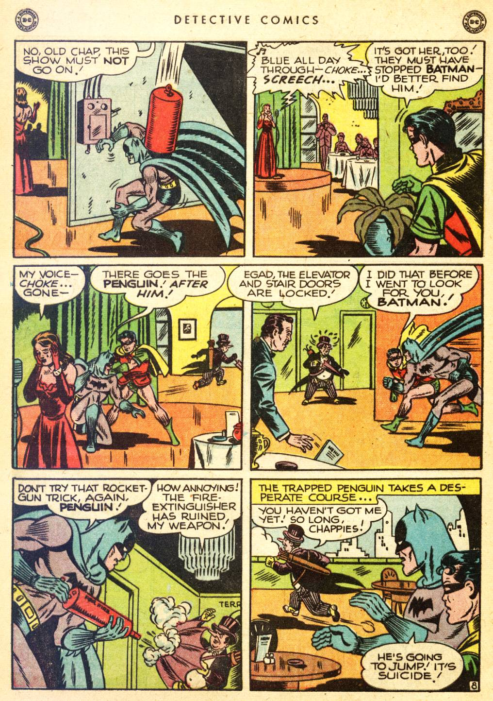 Read online Detective Comics (1937) comic -  Issue #126 - 10