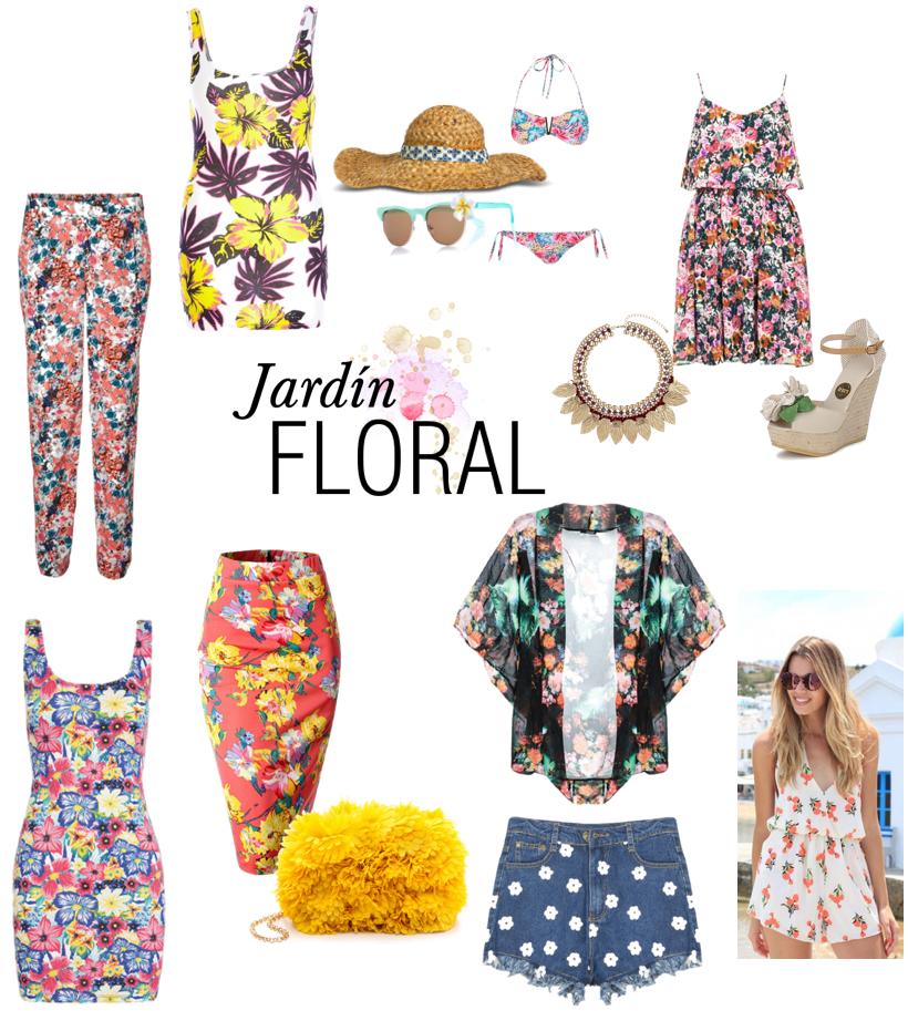 ropa flores falda vestido pantalones verano summer combinar
