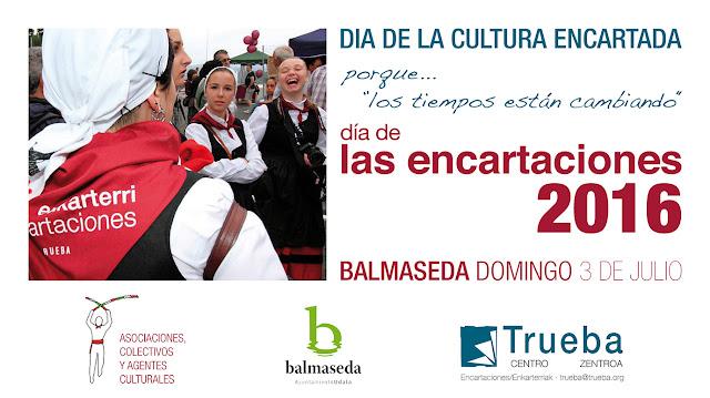 Balmaseda acogerá el Día de las Encartaciones 2016