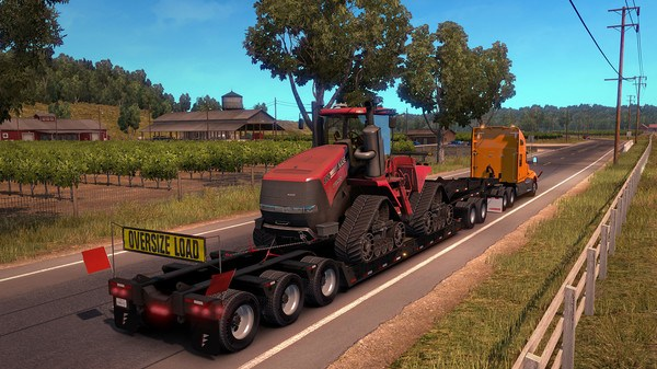 American Truck Simulator Heavy Cargo Pack Free Download Screenshot 2