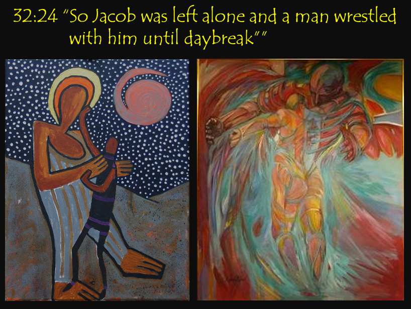 Jacob Wrestles with God | grace carol bomer |Jacob Wrestles With God Meaning