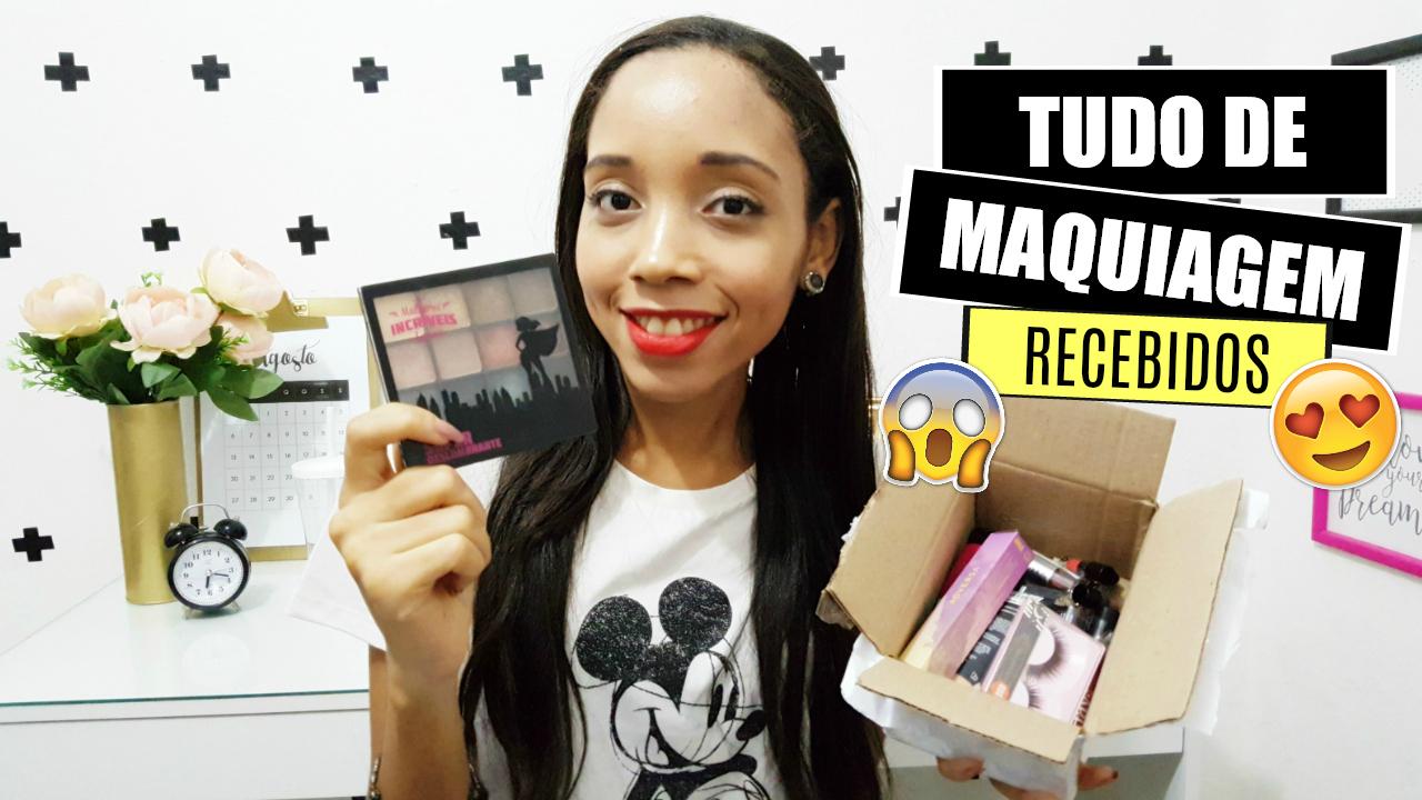 Make barata - Tudo de Maquiagem - Recebidos