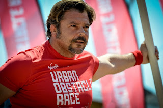 Virgin Active Urban Obstacle Race - A sx Andrea Lo Cicero e a dx il Presidente Virgin Active, Luca Valotta credit LaPresse