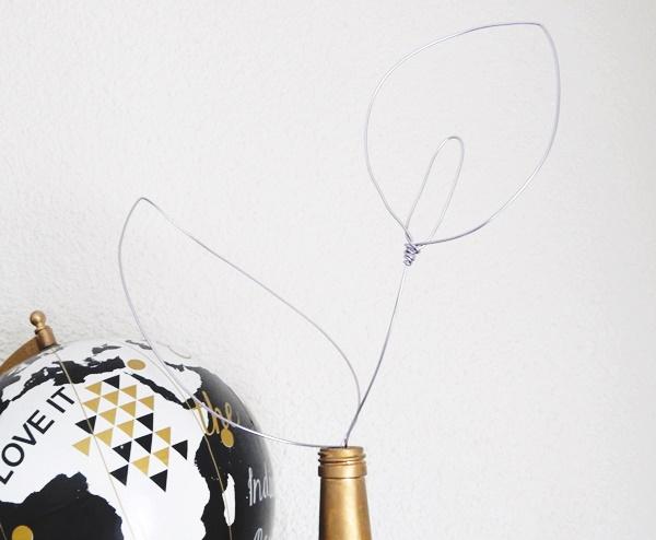 DIY : Fleur d'arum en fil d'aluminium