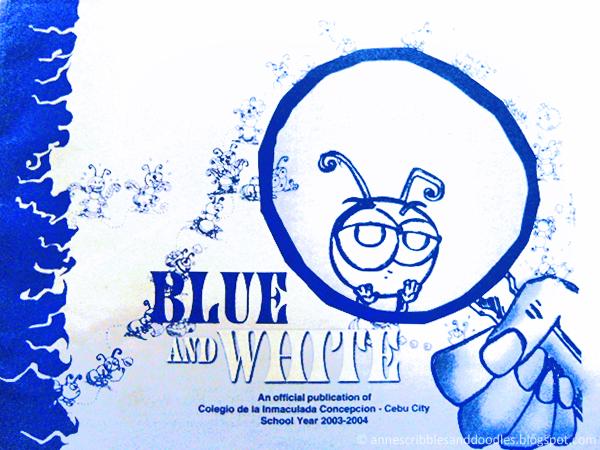 CIC Cebu Blue and White Magazine
