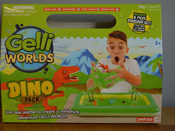 Review and Giveaway | Gelli Worlds Dino Pack
