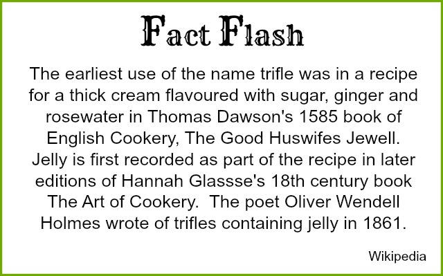 The history of trifle