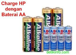 Cara buat ces dari baterai abc atau alakaline