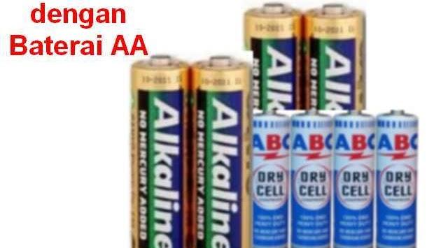 Cara Buat Charge Hp Dengan Baterai Abc Dan Alkaline Detik Info
