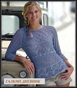 ajurnii pulover spicami(1)
