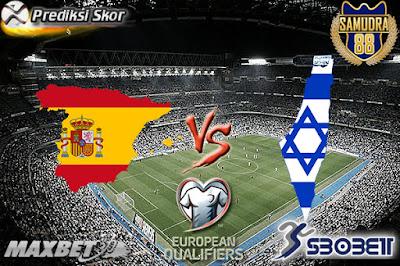 Prediksi Bola Spanyol Vs Israel 25 Maret 2017