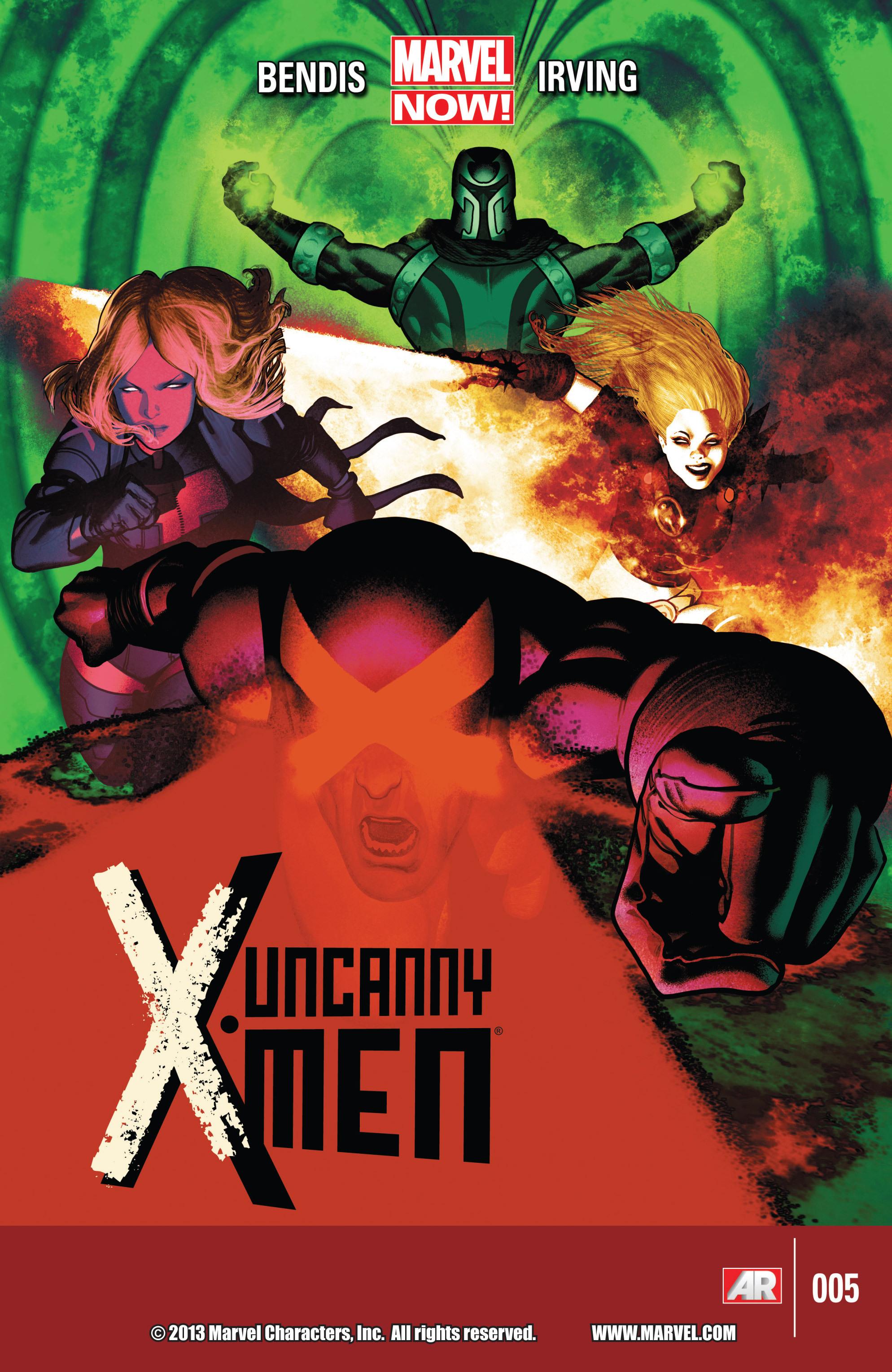 Read online Uncanny X-Men (2013) comic -  Issue #5 - 1