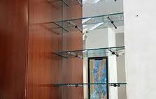 GLASS SHELVING NEW YORK
