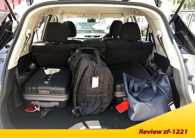 Bagasi luas dari Nissan X-trail Mobil SUV Paling Tangguh dan Nyaman