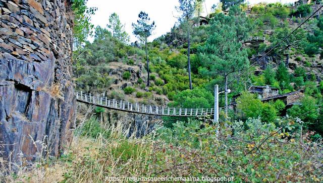 Ponte Suspensa, Foz d'Égua