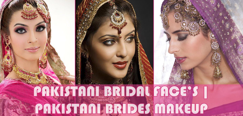 pakistani bridal face's | pakistani brides makeup | electrihot