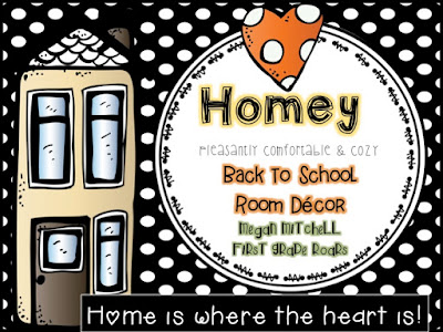 "A Picture's Worth a Thousand Words...Back to School ""Homey"" Theme - First Grade Roars!"