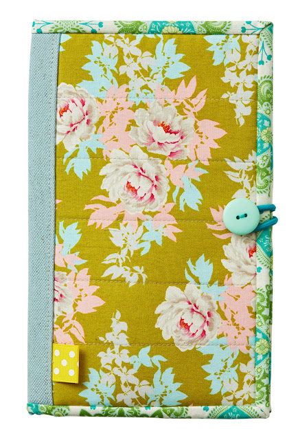 Jot It Down Organizer by Heidi Staples of Fabric Mutt for Quilts and More Magazine