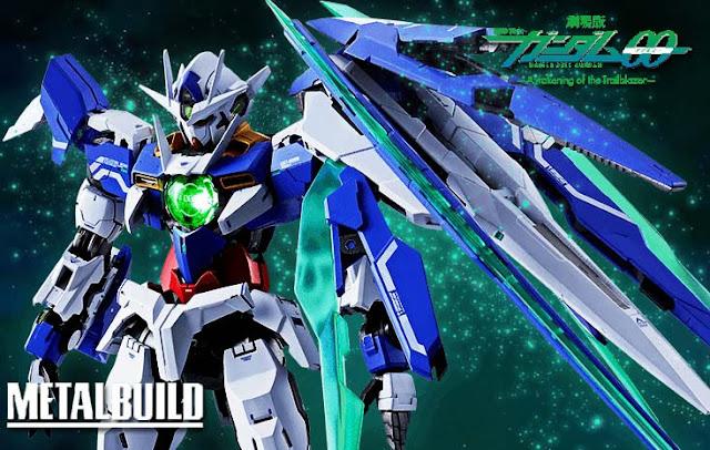 Image result for 00 Qan[T] Bandai Metal Build gundam