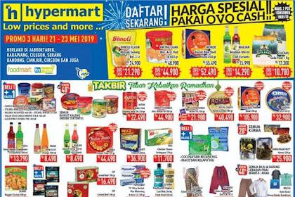 Katalog Promo Hypermart Weekday Terbaru 21 - 23 Mei 2019
