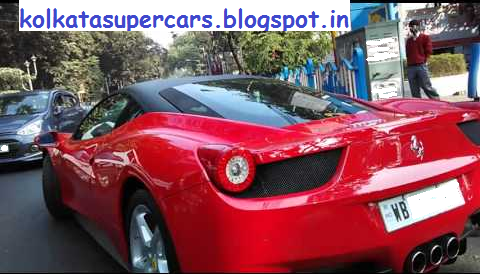 Super Cars Kolkata Ferrari Italia In Salt Lake Kolkata
