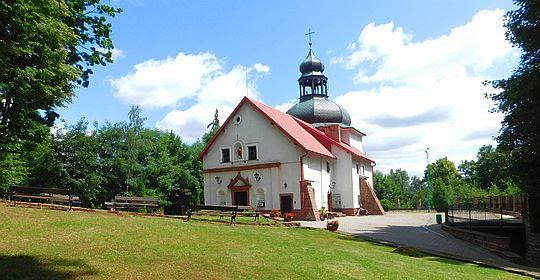 Sanktuarium Matki Bożej Bolesnej na Kościelcu.