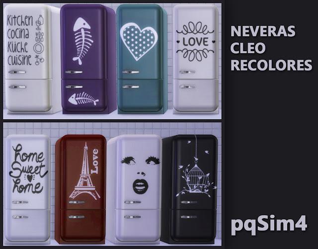 Nevera. Sims 4 CC.