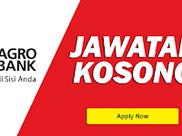 Jawatan Kosong di Bank Pertanian Malaysia Berhad AgroBank