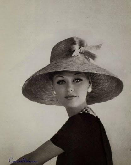 372e4e2d5 Couture Allure Vintage Fashion: Designer Hats from Paris - 1960