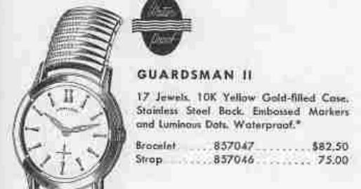 Vintage Hamilton Watch Restoration: 1956 Guardsman II