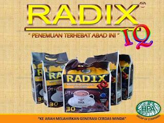 Kandungan Radix IQ Gold Hpai