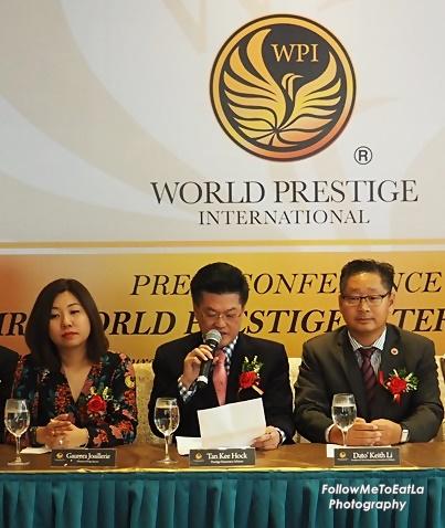 Prestige Honorary Advisor, Mr Tan Kee Hock