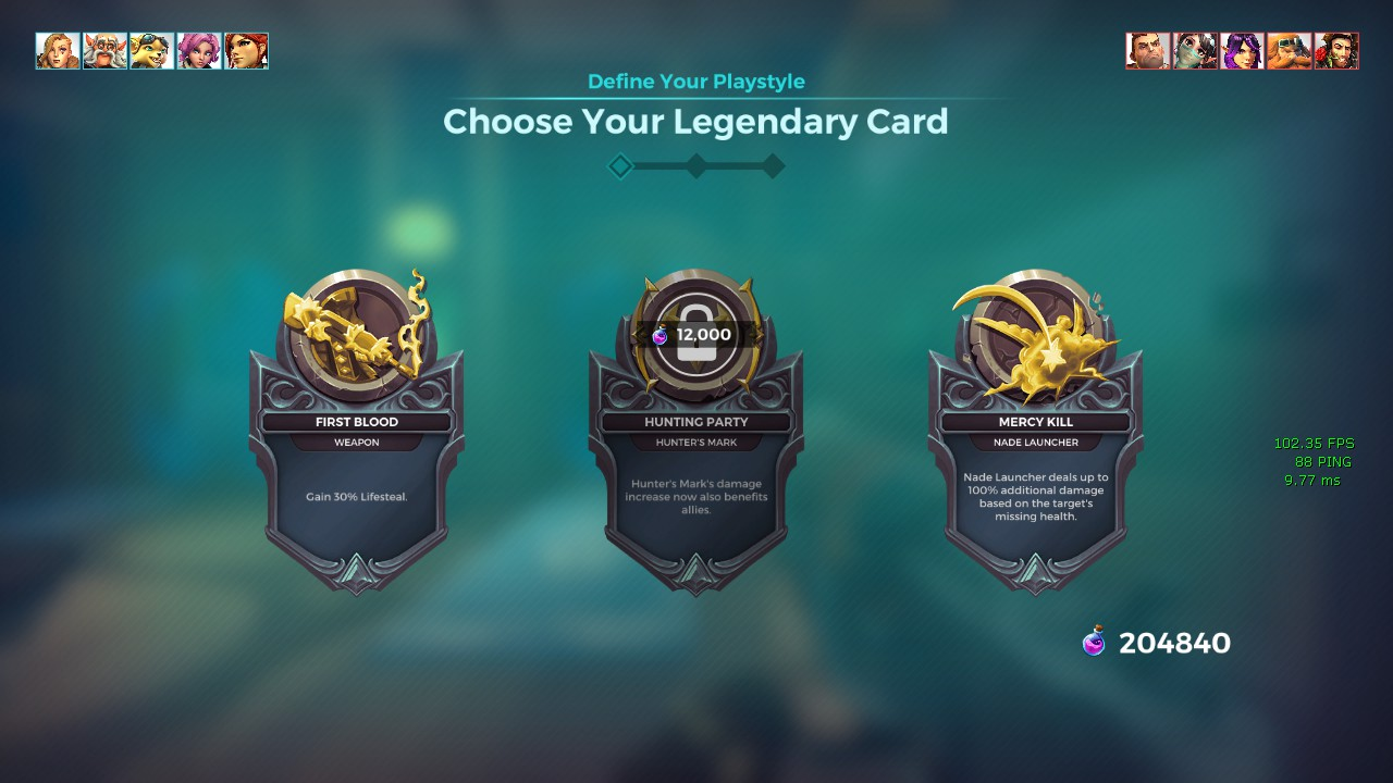 tyra legendary paladins cards