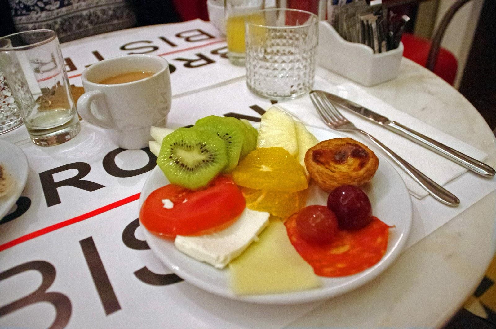 Brown's Central Hotel Lisbon Breakfast