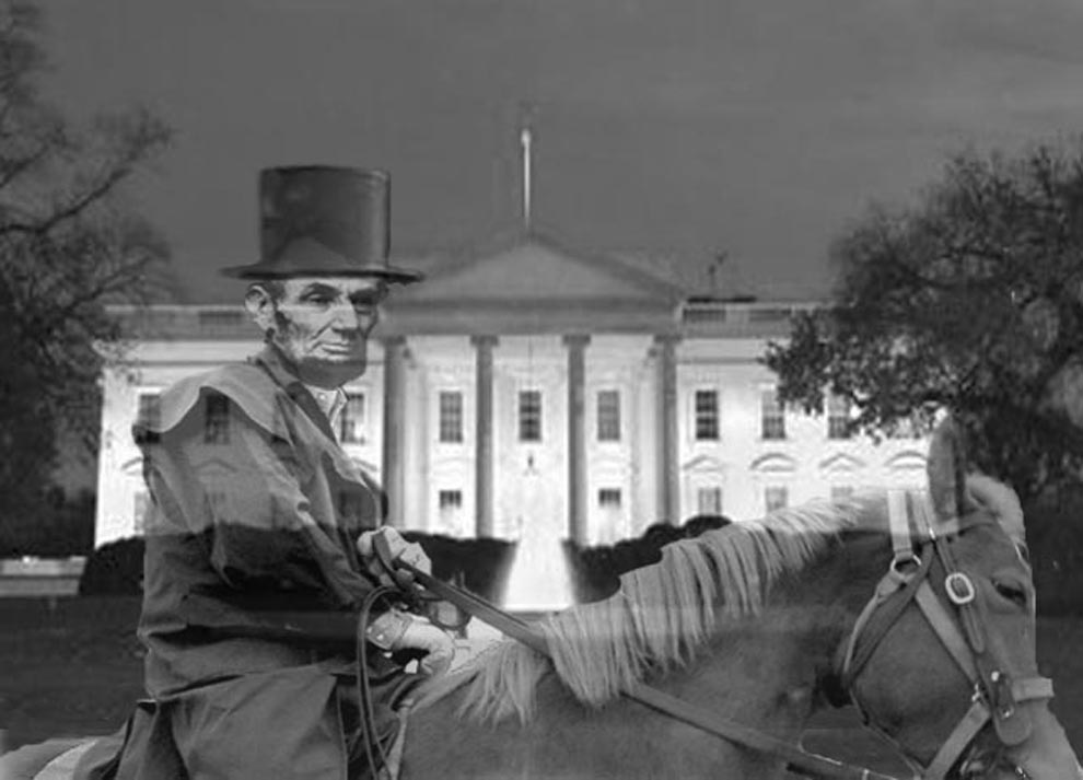 Image result for Ghost of Lincoln in white house inside