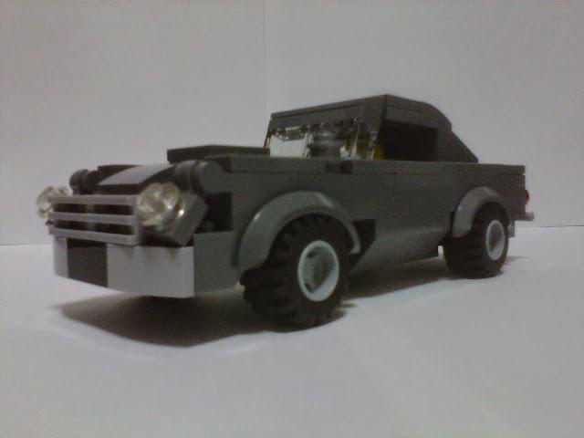 DB5 LEGO Astin Martin DB5 Moc