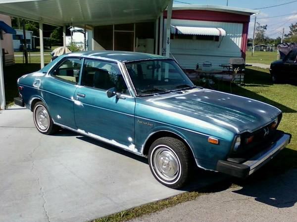 Patina Look, 1977 Subaru Leone 2-Door Coupe