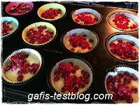 Johannisbeer-Joghurt Muffins