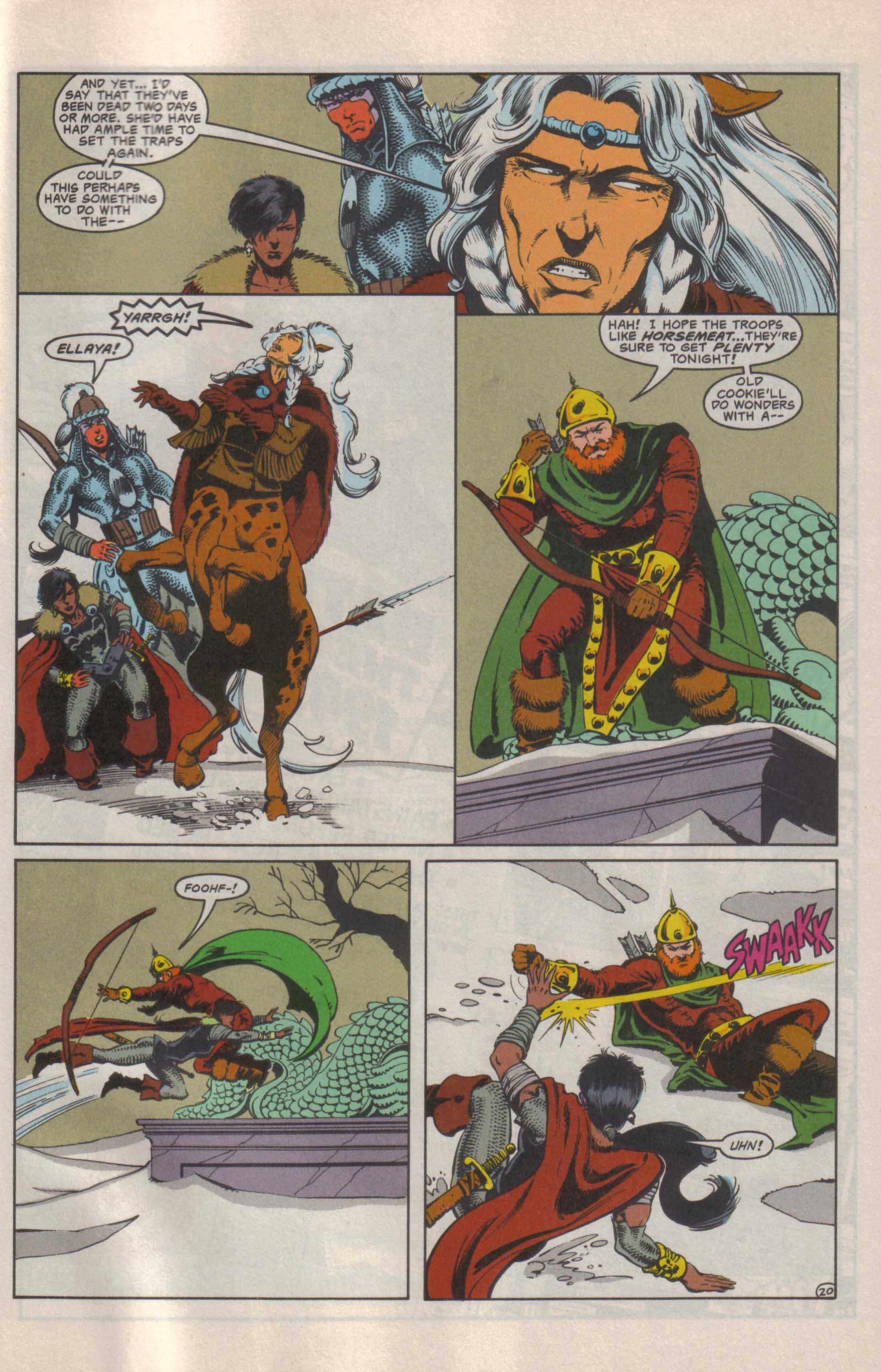Read online Advanced Dungeons & Dragons comic -  Issue #25 - 21