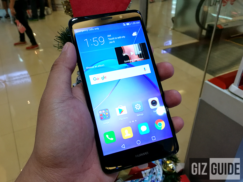 Huawei GR5 2017 in person