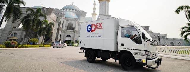 Cara Semak Tracking GDex Online