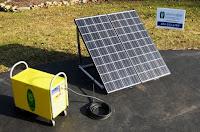 solar generator storage system