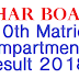 Bihar Board 10th Matric Compartmental Result 2019- How to check